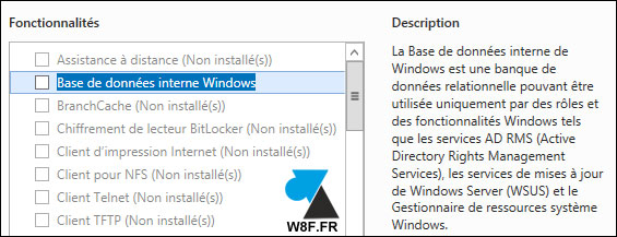 tutoriel supprimer desinstaller WSUS Windows Server Update Services