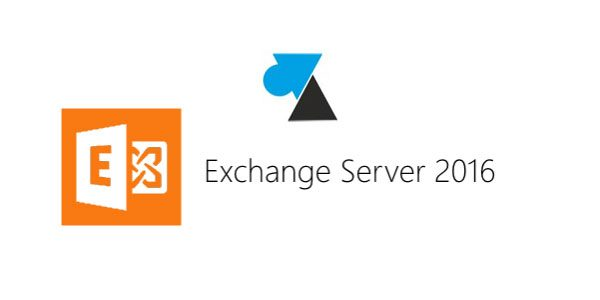 Migration vers Exchange 2016