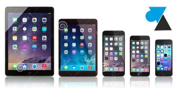 Supprimer la signature des mails sur iPhone et iPad