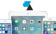 Mise à jour iOS12 pour iPhone et iPad