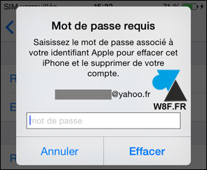 tutoriel effacer réinstaller reset iPhone iPad iPod iOS Apple