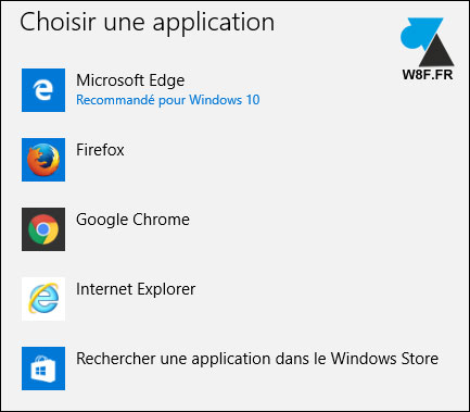 tutoriel Windows 10 applicatios par défaut