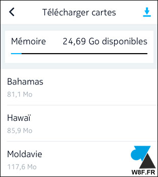 Telecharger cartes here maps android