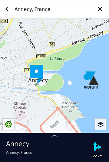 tutoriel application GPS gratuite Android Nokia Here Maps