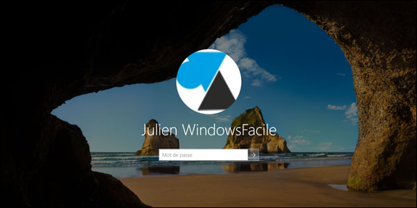 tutoriel Windows 10 mot de passe lockscreen