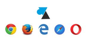 logo Chrome Firefox Edge Safari Opera
