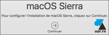 tutoriel OSX macOS Sierra telecharger update