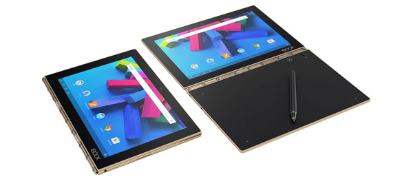 test ultrabook tablette hybride Lenovo Yoga Book Android Windows