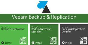 Veeam backup replication installation