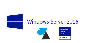 WF tutoriel Windows Server 2016 logo WS2016