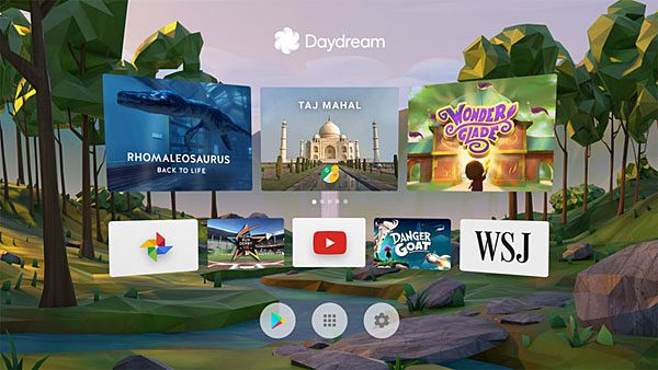 Google PlayStore Daydream