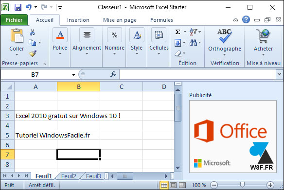 Word et excel gratuits pour windows 10 - Telecharger open office pour windows 8 ...