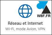 tutoriel Windows 10 Paramètres Réseau et internet