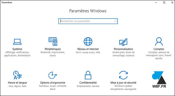 tutoriel Windows 10 activer theme clair blanc