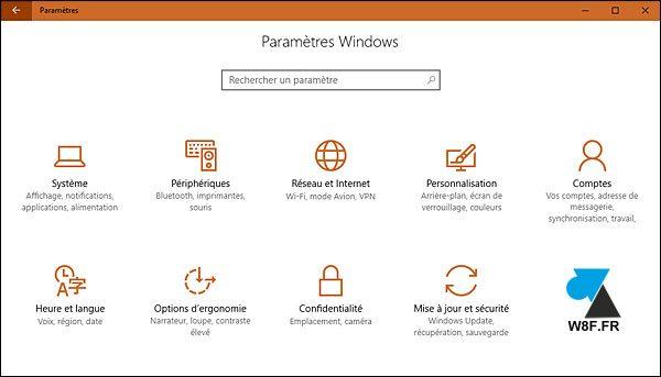 tutoriel Windows 10 changer theme couleur