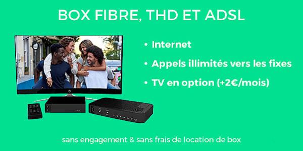 bon plan forfait ADSL fibre cable Red by SFR showroomprive