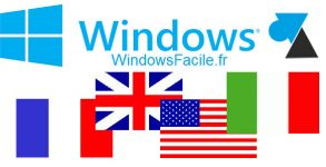 tutoriel WF changer langue systeme Windows 10