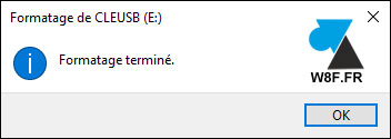 tutoriel formater cle usb disque dur externe