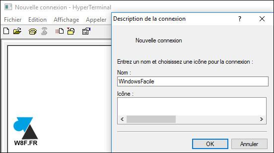 tutoriel logiciel gratuit HyperTerminal Windows XP 10