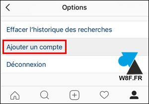 tutoriel multicompte Instagram iPhone iPad iOS