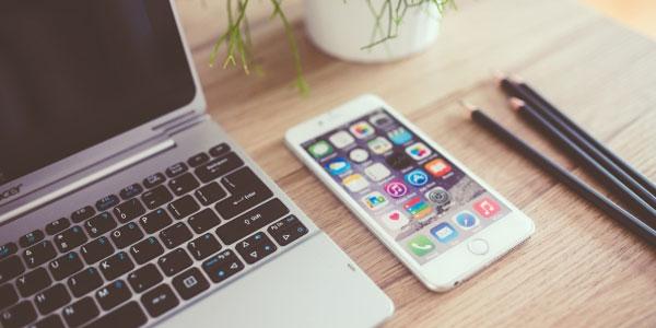 iPhone laptop Windows