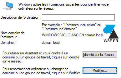 tutoriel renommer pc windows domaine active directory