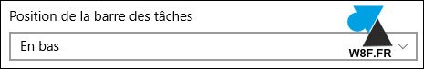 tutoriel Windows 10 deplacer barre des taches menu Demarrer