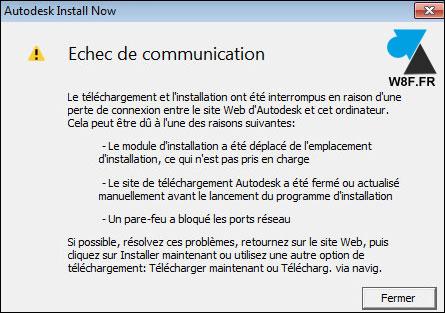 tutoriel telecharger installer Autodesk AutoCAD erreur