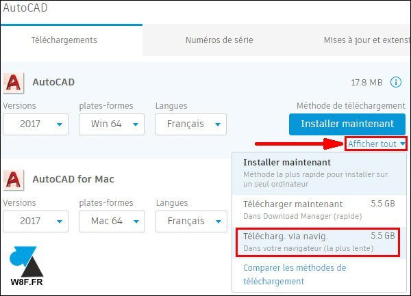 tutoriel telecharger installer Autodesk AutoCAD