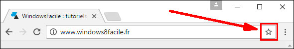 tutoriel Google Chrome ajouter favori internet