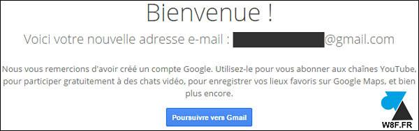 tutoriel créer compte gmail google mail