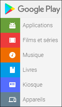 Google Play Store Music Books Movies Games