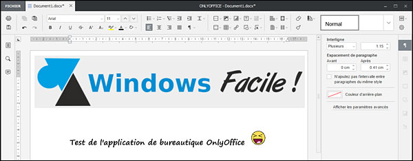 Onlyoffice concurrent gratuit de microsoft office - Windows office gratuit pour windows 8 ...