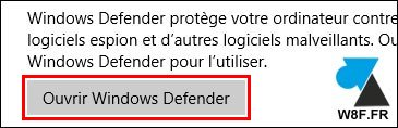 tutoriel Windows Defender antivrus gratuit