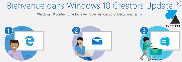 tutoriel telecharger installer mise à jour Windows 10 Creators Update 1703 CU