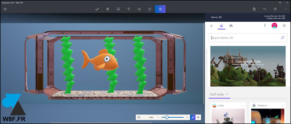 tutoriel Windows 10 Creators Update Paint 3D Paint3D 3DPaint