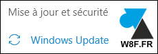 tutoriel Windows 10 Update mise a jour