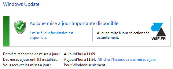 tutoriel Windows 7 Update mise à jour