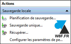 tutoriel logiciel sauvegarde Windows Server 2016
