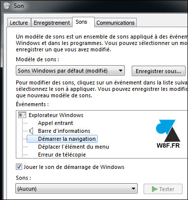 tutoriel configurer son audio Windows 7