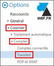 tutoriel outlook webmail transferer messages mails
