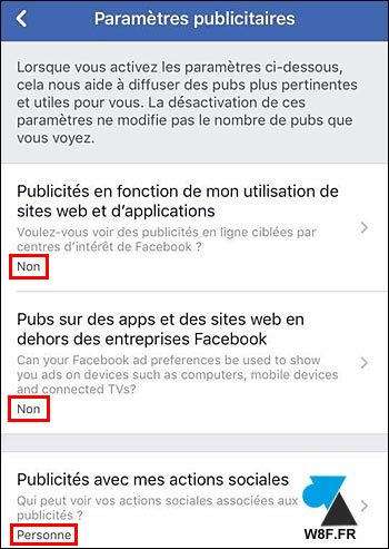 tutoriel iPhone iPad Android publicité Facebook mobile