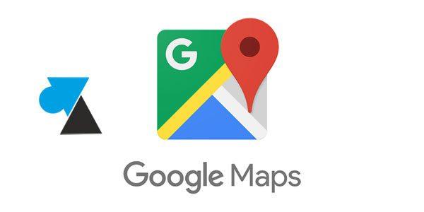 Google Maps : définir des adresses Domicile et Travail