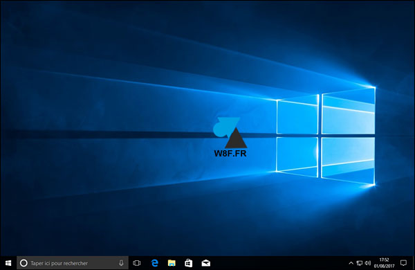 tutoriel Windows 10 icones disparu bureau
