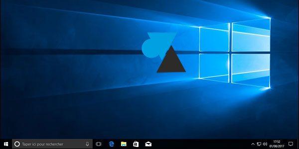 Faire disparaitre toutes les icônes du Bureau de Windows