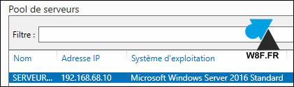 tutoriel Windows Server 2016 R2 installer NET Framework 3.5 3.0 2.0