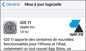 tutoriel telecharger installer iOS 11