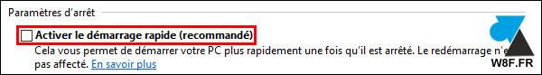 tutoriel Windows 10 arreter ordinateur