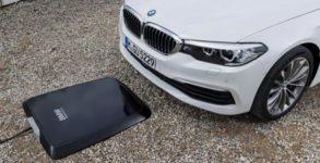 bmw wireless charging recharge sans fil voiture electrique