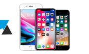 Ralentissement et batterie des iPhone en 2018